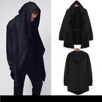 Wholesale Original design spring autumn mens clothing sweatshirt hoodie men hood cardigan mantissas black cloak outerwear oversize ZSF6