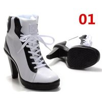 Wholesale 2015 New Classics High Heels Ankle Boot Sport High Heels Women Basketball Shoes Correcting Motile Shoes