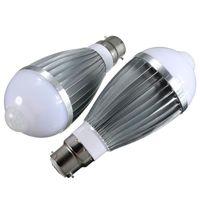 best motion detection lights - Best Promotion B22 W SMD Pure Warm White Motion PIR Infrared Sensor Detection LED light Lamp Bulb V