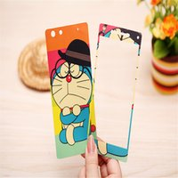 adhesive screen protector - 2016 New Arrival Luminous kawaii Luxury Cartoon Screen Protector Phone Stickers for OPPO R1 R829T Fashion Front and Back Adhesive Stickers