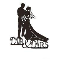 custom acrylic - Romance Novel wedding cake topper Acrylic Custom name cake topper Custom wedding cake topper Mr Mrs L02