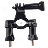 Wholesale Mountain Bicycle Cycle Handlebar Seatpost Pole Camera Seatpost rack compatibel Mount For GoPro HD Hero bike holder for gopro