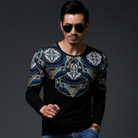 best mens clothes - 2015 Bronzing mens Outerwear best version wing printing pullover moleton Sweatshirts sport male slim tshirt clothes