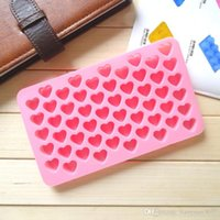 cupcake soap - 55 Hearts Silicone Ice Cube Chocolate Cake Cookie Cupcake Soap Molds Mould Tool TY1707