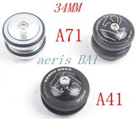 Wholesale VP A71 mm MTB Mountain Bikes Road Bicycles Ball Bearing Built in Headset Bowl External Wrist Washer Head Parts