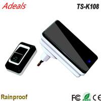 Wholesale Digital wireless DingDong doorbell Waterproof smart doorbell energy saving and sustainable use MHz KHz operate Frequency