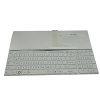 Wholesale New White Laptop US Keyboard For Toshiba Satellite C850 D C850 P5010 C850 C L850 T02B L850 T01R L850 R Series Replacement K2264