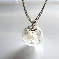 Cheap Necklace Best dandelion necklace