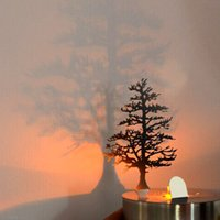 romantic home decorations - Romantic LED Shadow Light Stunning For Store Coffer Shop Party Home Decoration