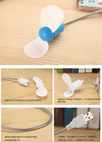 Wholesale Flexible Mini USB Cooling Fan Cooler For Laptop Desktop PC Portable Low Noise And Low Power Consumption