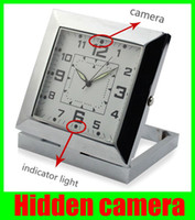 Wholesale Hidden camera HD X960 Spy DVR Camera Sound Control Detecting Video Recorder Alarm Clock