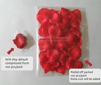 Wholesale Super Silky Rose Petals Wedding Party Decorations Aisle Runners Flower Girl Table Decorations Colors