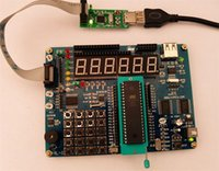 avr microcontroller tutorial - 51 AVR microcontroller AT89S52 ATMEGA16 Combo learning board development board supporting tutorial