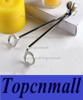 Wholesale Free shippig hot selling Candle Wick Oil Lamp Steel Stainless Trimmer Scissor Cutter Snuffers Tool silver