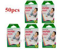 Wholesale Fujifilm instax mini lomo instant films white edge photo paper for fujifilm instax mini7s camera