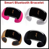 vibrating bracelet - Hot Sale Bluetooth Vibrating Smart Bracelet Bangle Watch Wrist Watch with Caller ID Digital Time Display Distance Vibration for Smartphones
