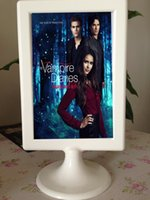 Wholesale Home decoration Photo Frame The Vampire Diaries pictures can be replaced with US TV Series Movie dvds photos DHL