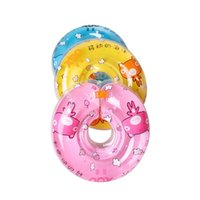 Wholesale Hot Selling Baby Neck Float Safety Baby Swimming Ring Foldable Boy s Girl s Swimming Neck Ring Inflatable Pool Toys JF0031 salebags