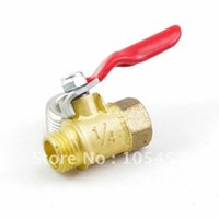 ball valves manufacturer - 20pcs quot BSPP Threaded Air Male Female Full Ports Brass Ball Valve directly from manufacturer order lt no track