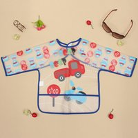 baby bibs waterproof backing - Cute Multi Color EVA Baby Toddler Coverall Bib Apron With Cute Animals And Waterproof Backing order lt no track
