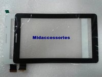 Wholesale 10PCs New quot bassoon AJQ PC1000 Tablet FPC AO V00 FPC A0 V00 A0 AO Capacitive touch screen panel Digitizer Glass