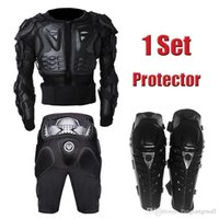 Wholesale 2015 New Motocicleta Motorcross Racing Motorcycle Body Armor Protective Jacket Gears Short Pants protective Motocycle Knee Pad A5