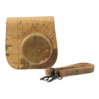 Wholesale Classic Map PU Leather Camera Case Bag For FUJIFILM Instax Mini8 Mini8s