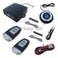 Wholesale Smart Pke Passive Keyless Entry Car Alarm System Remote Engine Start Push Start Button Auto Lock Unlock