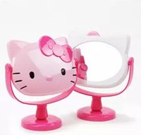 Wholesale hello kitty portable mirror mirror desktop married Queen Mirror Hello Kitty cartoon cute