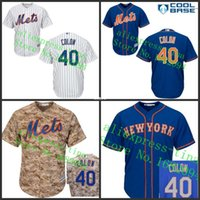 best colon - 30 Teams Best Quality Kids New York Mets Jersey Bartolo Colon Youth Baseball Jersey Name and Number all stitched Embroidery logos