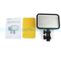 Acheter Conduit caméra lumière 126-Godox LED 126 Lampe torche vidéo pour caméscope appareil photo numérique DV mariage vidéographie photo journalistique tournage de la vidéo