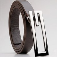 Wholesale New Designer Faux Leather Belts For Men Brand G head Buckle Men Belt Fashion Belts Men Accessories