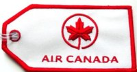 air travel canada - Custom Unique Travel Accessories Vintage Air Canada Luggage Tag per