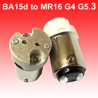 BA15D to MR16 basse lead - BA15d to MR16 G4 G5 adapter interface converter matching basse holder connecter for led bulb lamp