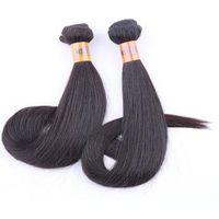 acid color - 100 Virgin Human Hair Weave Weft Unprocessed A Cheap Brazilian Peruvian Malaysian Indian Straight Hair Extensions Hair Bundles