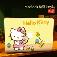 Wholesale Lovely Hello Kitty Creative personality Vinyl Local Decal Sticker Skin for Apple MacBook quot air11 quot quot Pro13 quot quot quot Retina13 quot quot