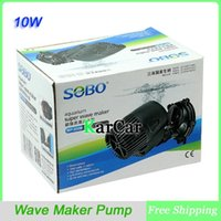 Wholesale SOBO W L H Degree Aquarium Super Wave Maker Pump For Coral Reef Marine Fish Tank V