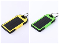 Wholesale Solar cell phone charging treasure