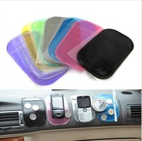 Wholesale New Portable practical Silicone Skin Mat Car Mat sticky pad Antiskid Mat Non slip Mat Holder Car Accessories