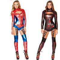 latex lingerie - Sexy adult sm queen patent leather lingerie police uniform garters suit supergirl costume little red riding hood costume avengers costume