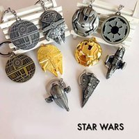 Wholesale Star Wars Peripherals Keychain Star Fleet Academy Spaceship Action Figures Pendant Accessories Collectible Gifts SD501