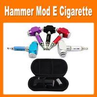 Single Black Electronic Cigarette Colourful GS Hammer Mod Kit UAKE E-cigarette Hammer Pipe Ecig with 18350 Battery Electronic Cigarette Kit good quality(0212026)