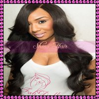 Wholesale New Body Wave Full Lace Wigs Full Lace Human Hair Wig Density Brazilian Virgin Hair Glueless Lace Front Wig For Black Women