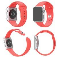 Cheap iwatch smartwatch strap Best apple watch silicone band straps