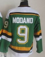 Wholesale 2014 Stars Mike Modano Green Home Hockey Throwback Jersey Shop Mike Modano Jersey from the Ice Hockey Online Store yakuda s store
