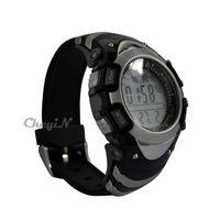 Wholesale Multi function Digital sunroad FX704A Gray Digital Fishing Barometer Waterproof Wrist Watch Thermometer Altimeter MDM05G order lt no t