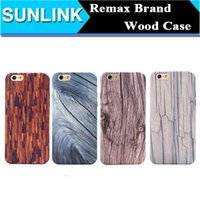 apple iphone innovation - Original Remax Wood Series Case for iPhone S Plus Ultrathin TPU Back Cover Personality Innovation Phone Protection Shell