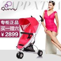 achat en gros de za bébé-Quinny pour za pp pour xtr a2 voiture parapluie lumière bébé poussette à deux voies