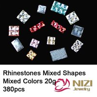 Wholesale Fashion Resin Strass g Flatback Mixed Sizes Rhinestones For DIY Decoration Mixed Color Rhinestone Beads For Clothes
