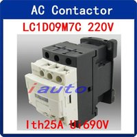ac electrical circuits - Electrical Circuit Control Poles NC NO AC Contactro V A